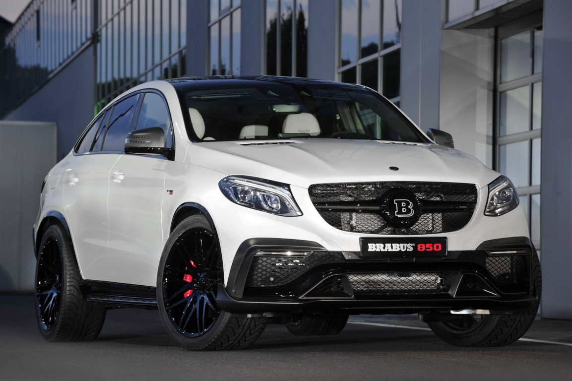 BRABUS 850 Biturbo 6.0 GLE 63 4MATIC Coupe